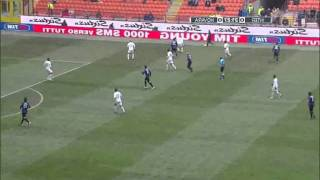 Inter Milan - Novara 0 - 1 (12.02.2012) Chivu and Stankovic AMAZING SKILLS AND TRICKS