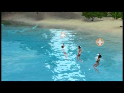 Lifeguard In Action - The Sims 3 Island Paradise