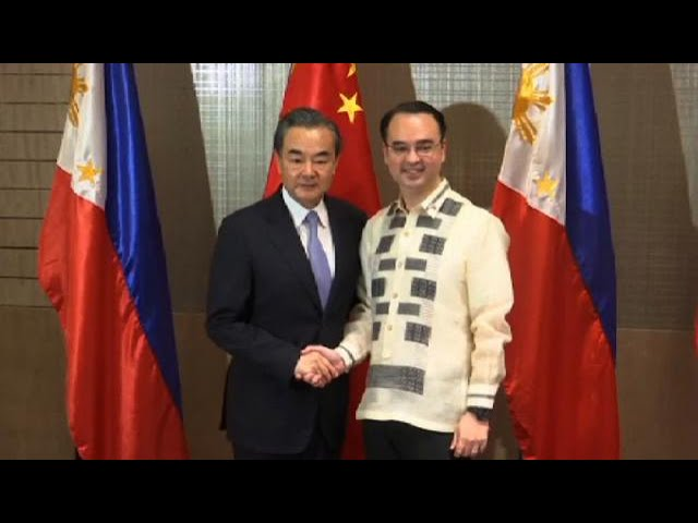 China urges Asean to reject outside interference