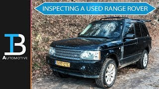 How to Inspect a Used Range Rover - Find a GOOD Used Range Rover: Part 2