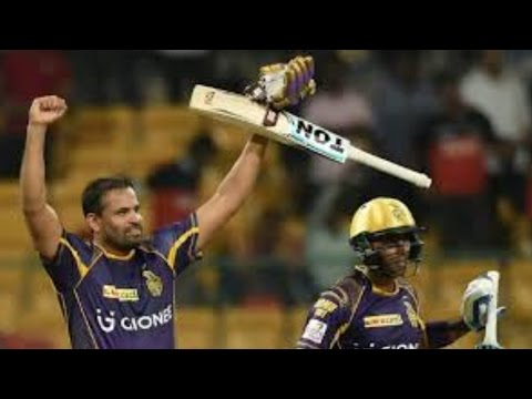 IPL 2016 | Royal Challengers Bangalore vs Kolkata Knight Riders | Yusuf Pathan &Russell Help KKR Win