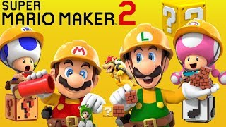 Super Mario Maker 2 - Story Mode Full Walkthrough 100%