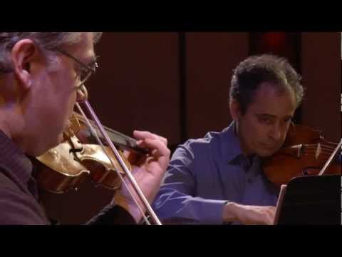Emerson String Quartet - BACH&friends - Outtake Gems - Michael Lawrence Films