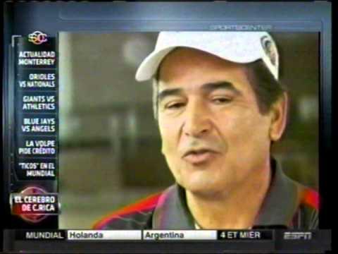 Jorge Luis Pinto - Seleccion de Costa Rica - Entrevista SportCenter ***