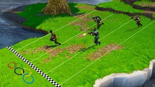 FORTNITE OLYMPICS | Racing In Fortnite Battle Royale 2018!