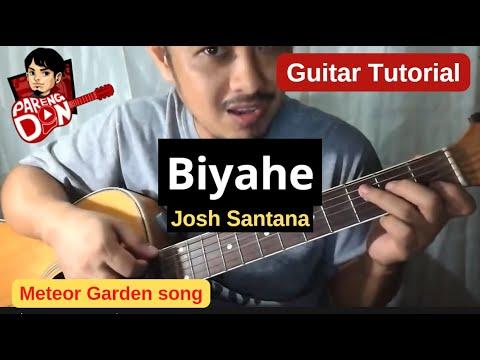 Guitar tutorial: Biyahe (Josh Santana) chords - Meteor Garden song