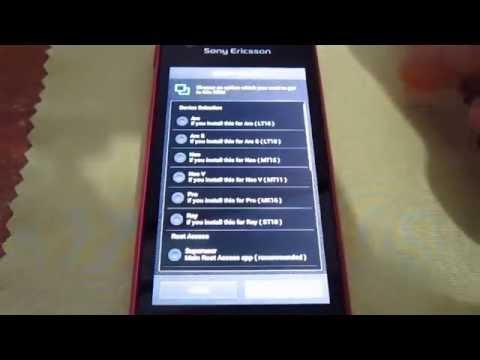 Sony Ericsson Xperia Ray Android 4.2 Smart Xperia Kurulum/Install