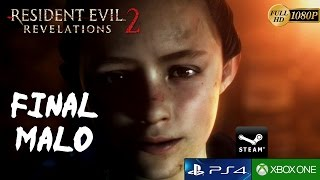 Resident Evil Revelations 2 FINAL MALO Español Episodio 4 Metamorfosis PC/PS4