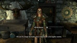SKYRIM - How to join the Companions.