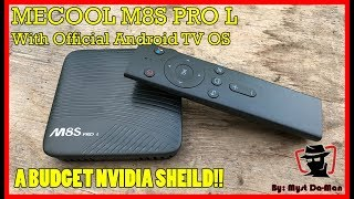 Powerful Octacore Mecool M8S PRO L - Official Android TV OS + Voice Control   Full Review