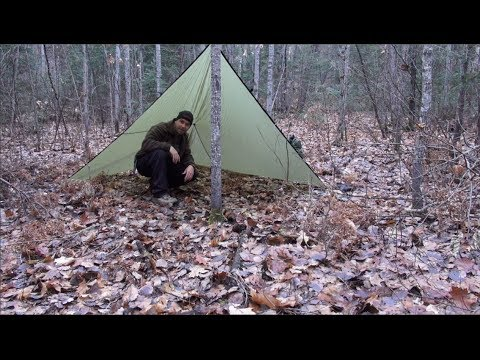 IF I HAD TO SURVIVE (Tarp Shelter)