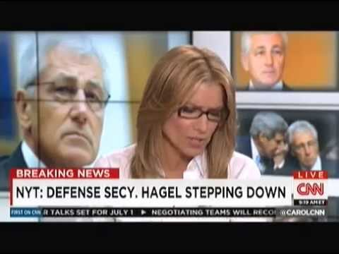 US Defense Secretary Chuck Hagel Forced to Resign by Obama