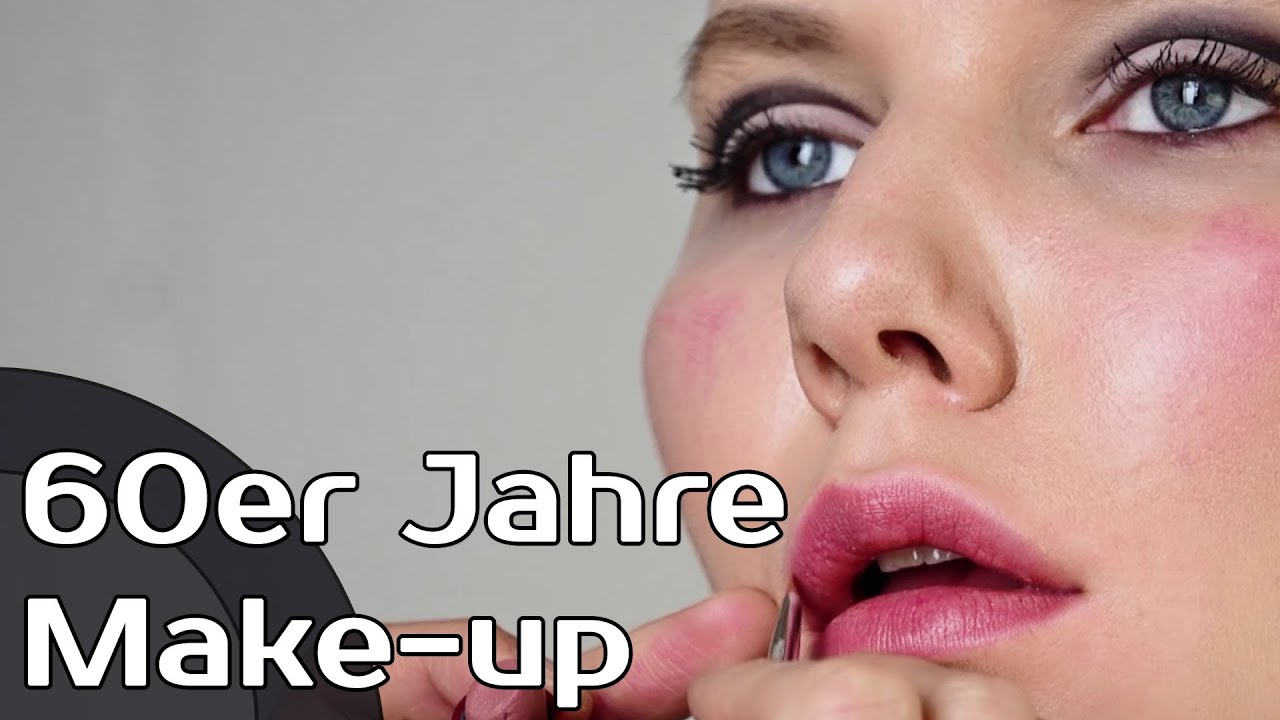 60er jahre make up make up schmink tutorial youtube. Black Bedroom Furniture Sets. Home Design Ideas