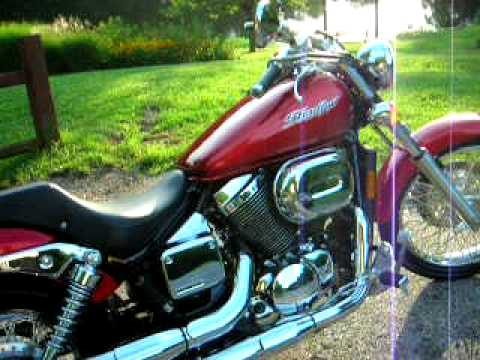 2007 Honda Shadow Spirit 750 Video