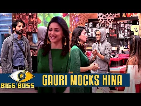 Bigg Boss 11 | OMG! Gauri MOCKS Hina Khan to defend Hiten