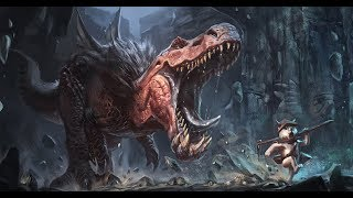 Lets Paint: Anjanath, Monster Hunter world