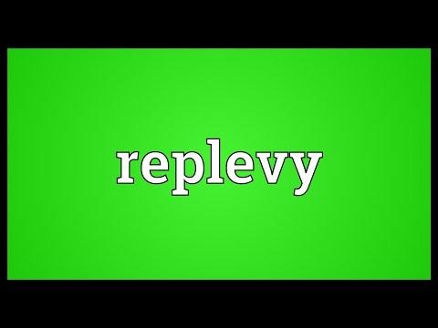 Header of replevy