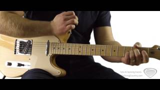Pedal Steel Licks on Electric Guitar - Free Lessons from Six String Country