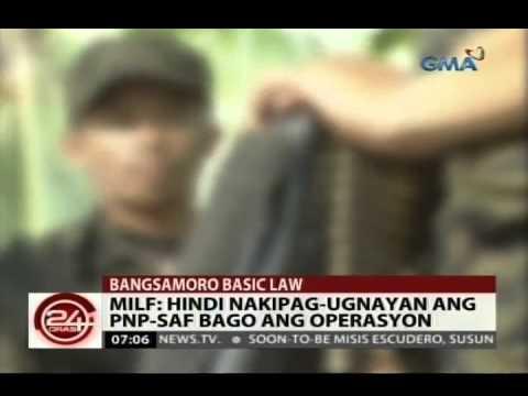 24 Oras: Pagtalakay sa panukalang Bangsamoro Basic Law, sinuspinde kasunod ng engkwentro