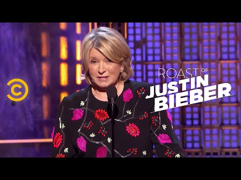 Roast Of Justin Bieber - Martha Stewart - Changing Lives For The Better video