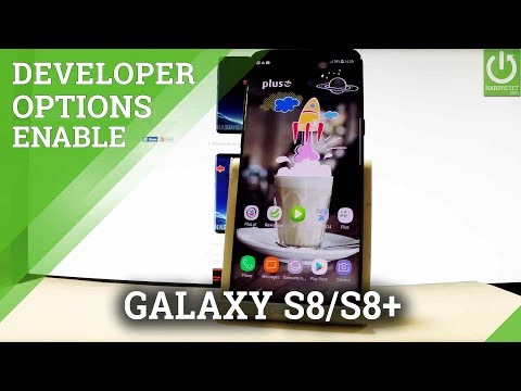 SAMSUNG Galaxy S8 / S8+ Developer Options / USB Debugging