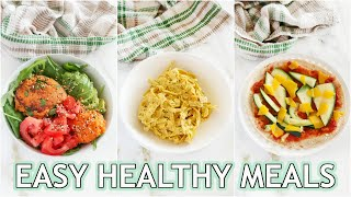 EASY HEALTHY RECIPES: healthy pantry meals