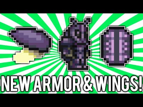 Terraria 1.2.3: Beetle Armor & Wings! (NEW Best Melee Armor!) [demize]