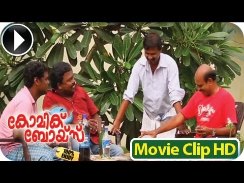 Malayalam Comedy Team Comic Boys West Own Cowntry -  Biju Best Comedy Scene 3 video