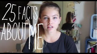 25 facts about me - Thylane Blondeau