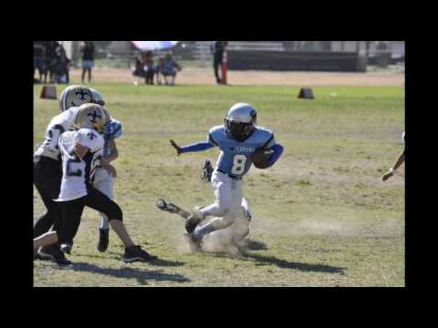 "Dorien""Flash"" Mars 1rst Football season. 7-8 yr olds ocjaff jr clinic."