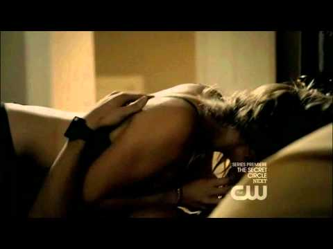 Tyler and Caroline Sex Scene (3x01 - The Birthday, Part 3/4)