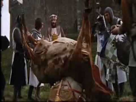 French Taunting - Monty Python And The Holy Grail video