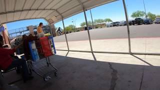 Flex Bus Stop, Valley Metro Rural Route 685, Walmart, 1060 S Watson Rd, Buckeye, Arizona, GX047273