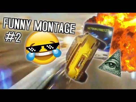 FUNNY ASPHALT 9 MONTAGE #2 (Funny Moments and Stunts)
