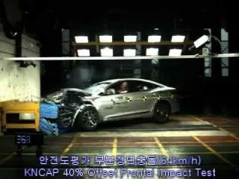 2012 Hyundai Grandeur/Azera NCAP Frontal Offset Impact (KNCAP)
