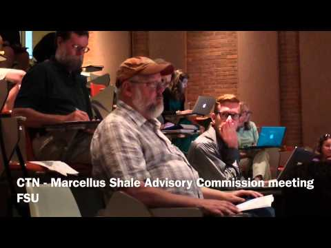 081814 Marcellus Shale Advisory Commission meeting