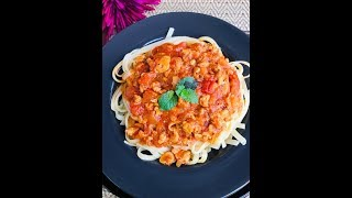 Easy Spaghetti Bolognese Recipe.