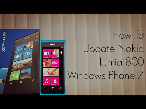 How to Update Nokia Lumia 800 Windows Phone 7 Mobile - PhoneRadar