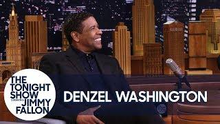 Denzel Washington Wonders Where Exactly Drake Tattooed His Face by : The Tonight Show Starring Jimmy Fallon