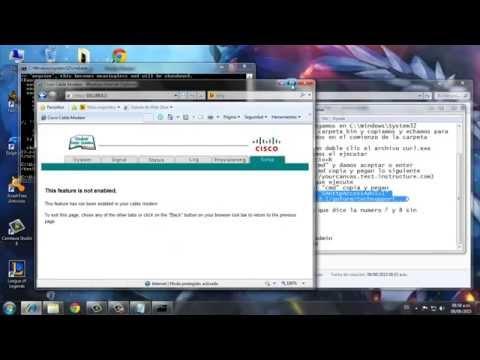 Cisco dpc2420-como entrar a las configuracion
