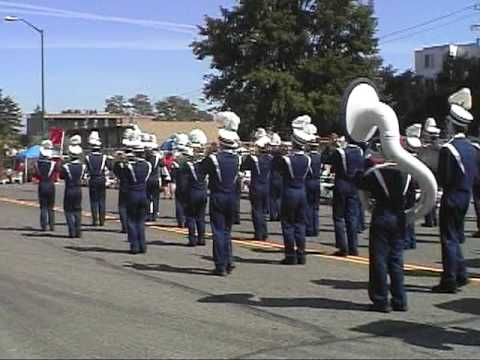 JOHN F KENNEDY CATHOLIC HIGH SCHOOL-BURIEN WA-2009 SUMMER BAND-BURIEN PARADE