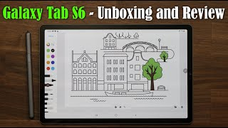 01. Galaxy Tab S6 - Unboxing, First Time Setup, and Review