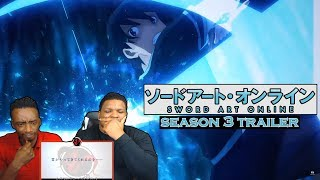 Sword Art Online: Alicization - Season 3 Trailer | Reaction