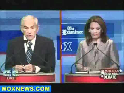 Ron Paul Educates Bachmann on Constitutional Rights - 2011/2012