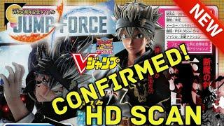 Jump Force: Asta revealed HD V jump Scan/Black Clover.