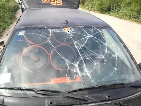 CLIO SP AUDIO BREAK GLASS FINALLY!  WOW!  NICE BREAK!!!