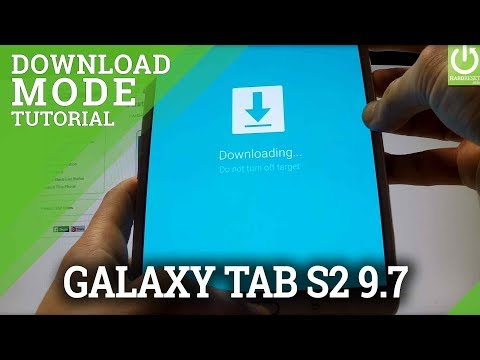 Download Mode SAMSUNG Galaxy Tab S2 9.7  - HOW TO ENTER and QUIT Download Mode
