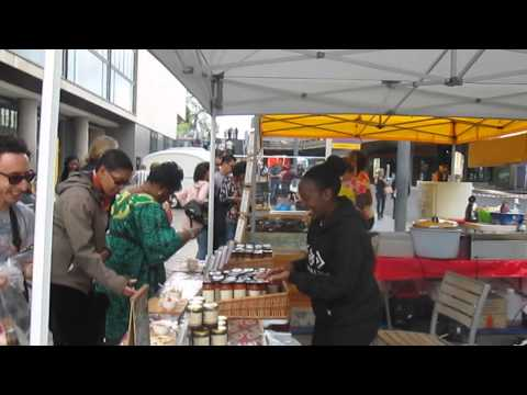 Africa Utopian Food Market Pepper and Stew at Southbank