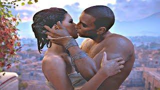 Assassins' Creed Origins - All Aya Cutscenes (Aya Movie)