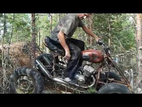 Мотоцикл своими руками ютуб 42